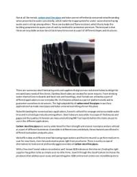 Density Of Steel Pipe - Acpfoto