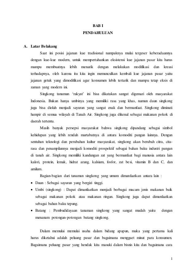 Contoh Makalah Kewirausahaan Makanan Kumpulan Contoh Cute766
