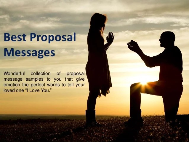 Girl Proposes To Boyfriend Wallpaper Best Love Proposal Messages