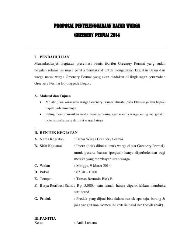 Contoh Proposal Event Bazaar : contoh, proposal, event, bazaar, Contoh, Proposal, Bazar, Karintoh, Cute766