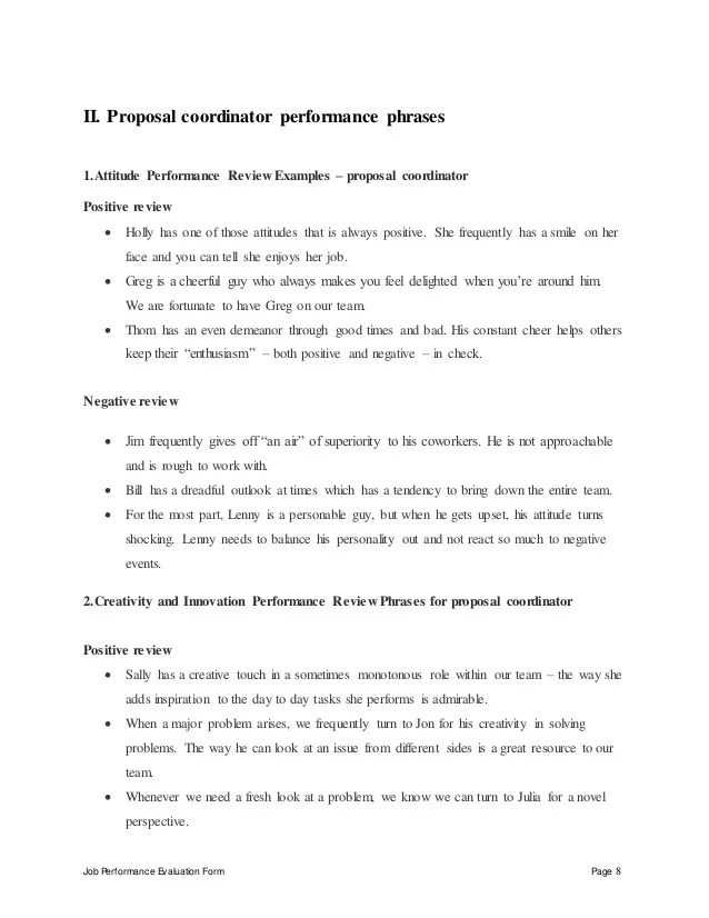 one page job proposal template free download