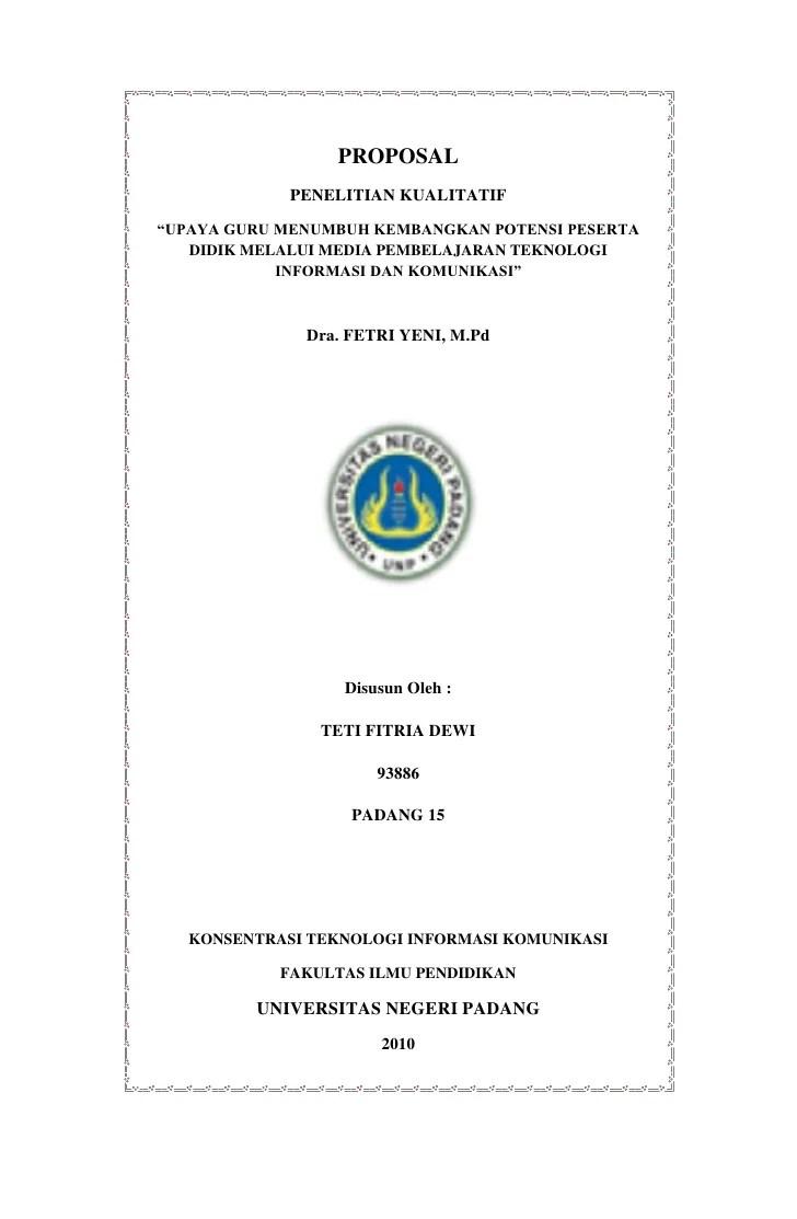 Contoh Proposal Skripsi Manajemen Pendidikan Islam Kuantitatif Kumpulan Berbagai Skripsi Cute766
