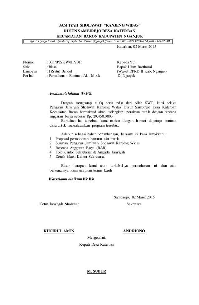 Contoh Proposal Pengajuan Bantuan Dana Sepak Bola - ZalrizBlog