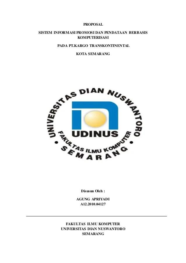 Contoh Proposal Sistem Informasi : contoh, proposal, sistem, informasi, Proposal, Pengajuan, Sistem, Informasi, Pt.kargo, Transkontinental