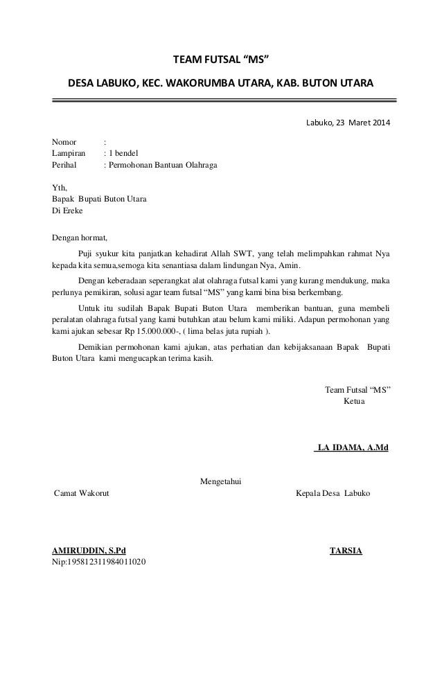 Contoh Cover Proposal Kewirausahaan - Resume Examples