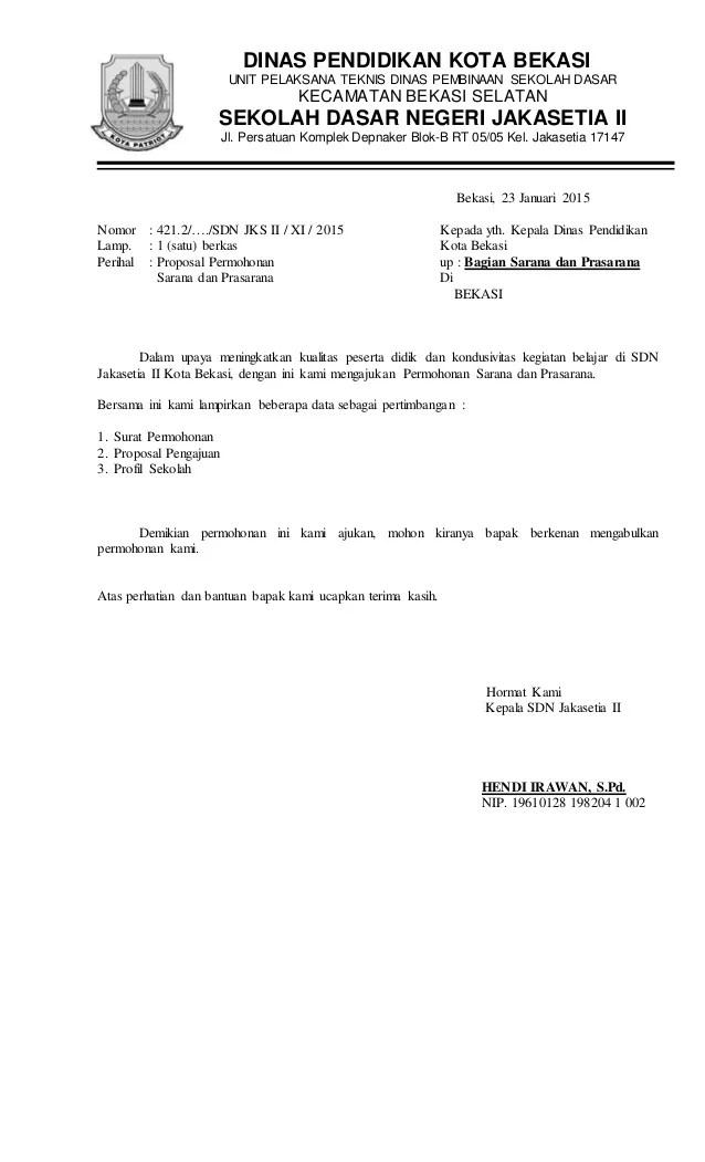 Contoh Proposal Bantuan Meja Kursi Sekolah Berbagi Cute766