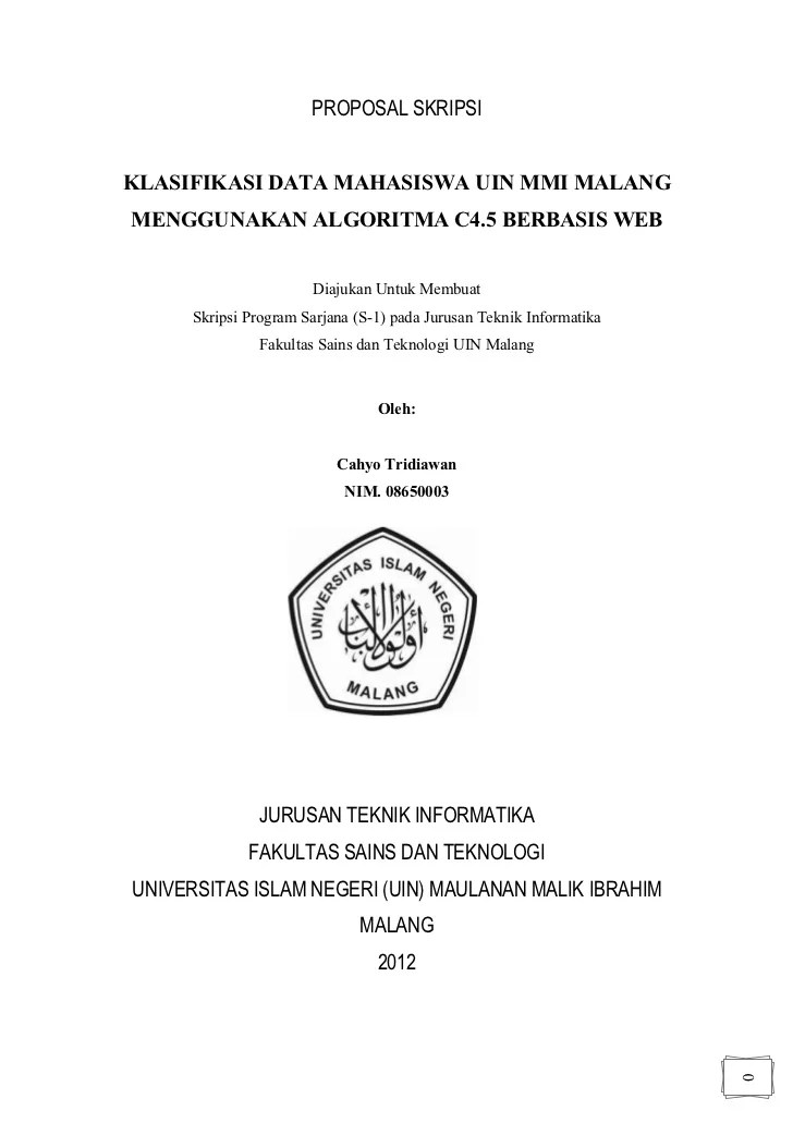 Contoh Skripsi Bahasa Indonesia Non Ptk Xilusbox Cute766