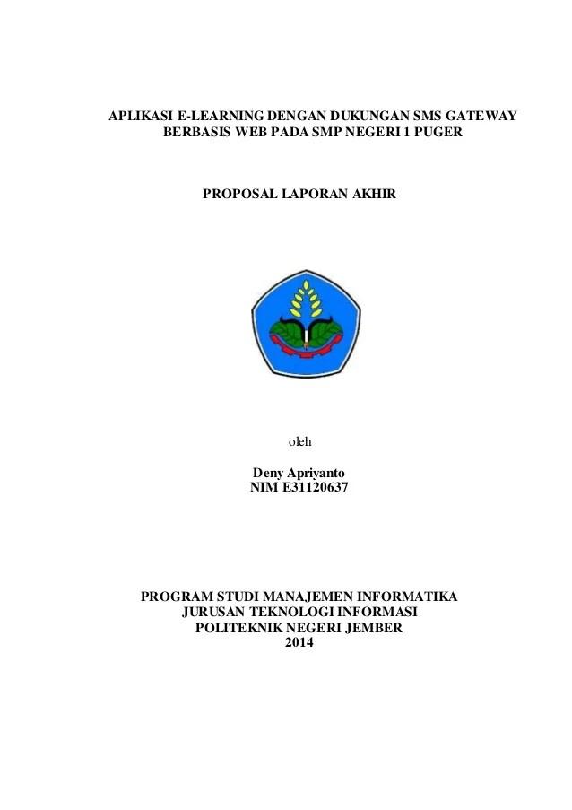 Contoh Proposal Tugas Akhir Teknik Elektro Berbagi Contoh Proposal Cute766