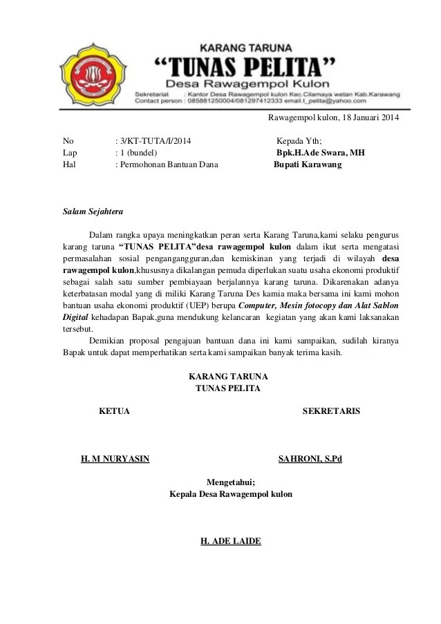 Proposal Karang Taruna : proposal, karang, taruna, Proposal, KARANG, TARUNA, (UEP)
