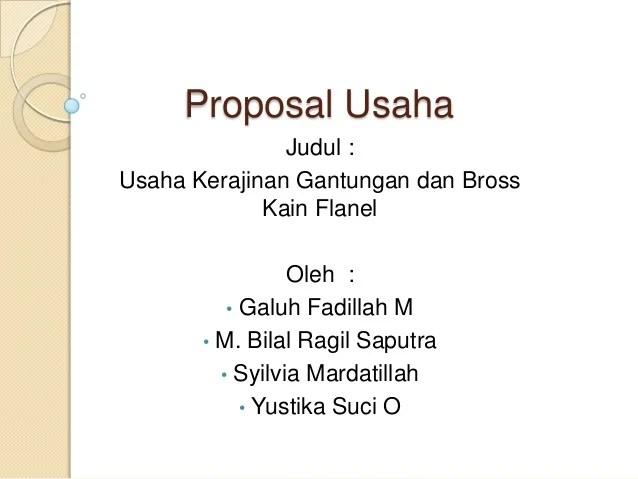 Proposal Business Plan Makanan | CV Templates | Download Free CV ...
