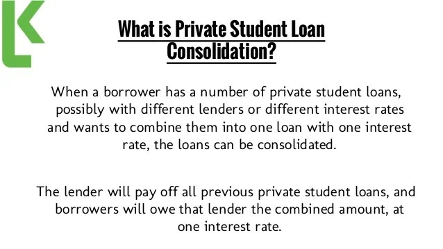 Pros and Cons of Private Student Loan Consolidation!