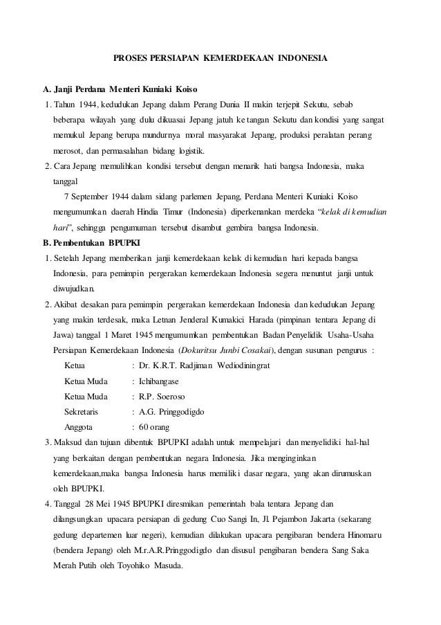 Sebutkan Hasil Sidang Kedua Ppki Tentang Keputusan Pembagian Wilayah Indonesia : sebutkan, hasil, sidang, kedua, tentang, keputusan, pembagian, wilayah, indonesia, Proses, Persiapan, Kemerdekaan, Indonesia