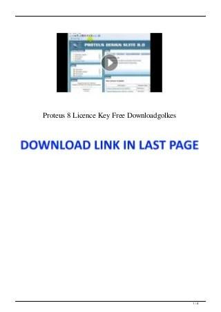 Download Proteus 8 Full Version : download, proteus, version, Proteus, Licence, Downloadgolkes