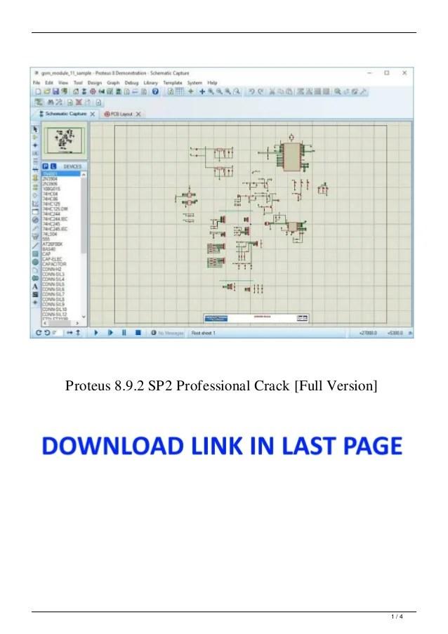 Download Proteus 8 Full Version : download, proteus, version, Proteus, 8.9.2, Professional, Crack, [Full, Version]