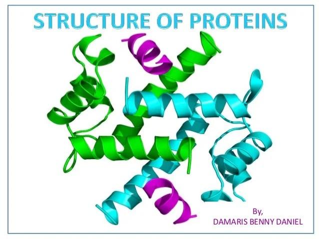 Protein structure details