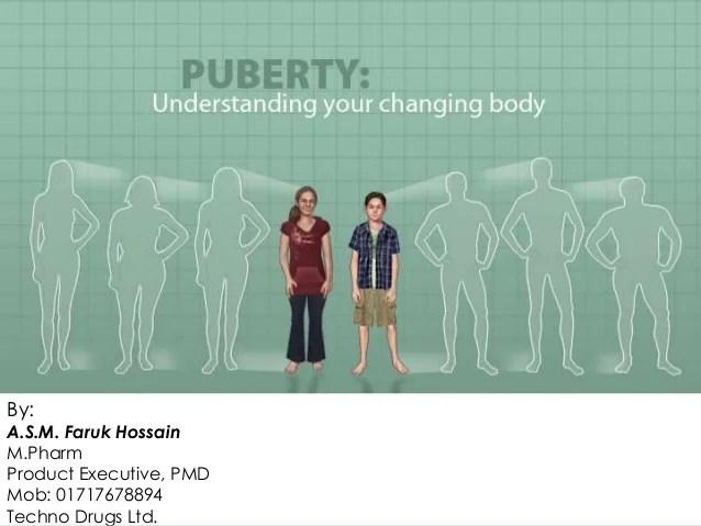 Puberty Presentation