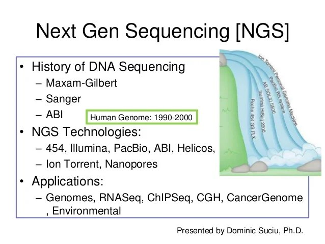 Next Gen Sequencing NGS Technology Overview