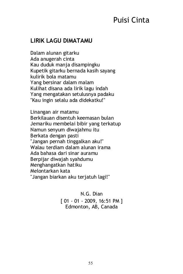 Lirik Lagu Tertulis Indah Puisi Cinta Dalam Hatiku : lirik, tertulis, indah, puisi, cinta, dalam, hatiku, Puisi, Cinta