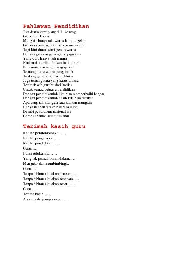 Puisi Tema Keagamaan : puisi, keagamaan, Puisi, Pendidikan