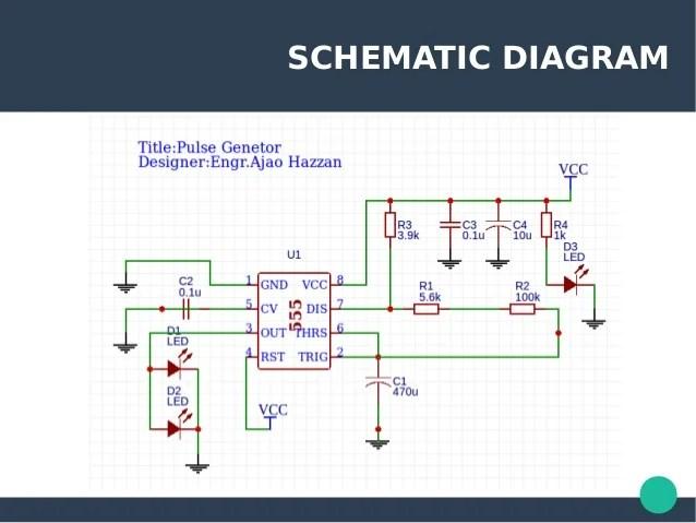 555 Pulse Generator Circuit Diagram Tradeoficcom