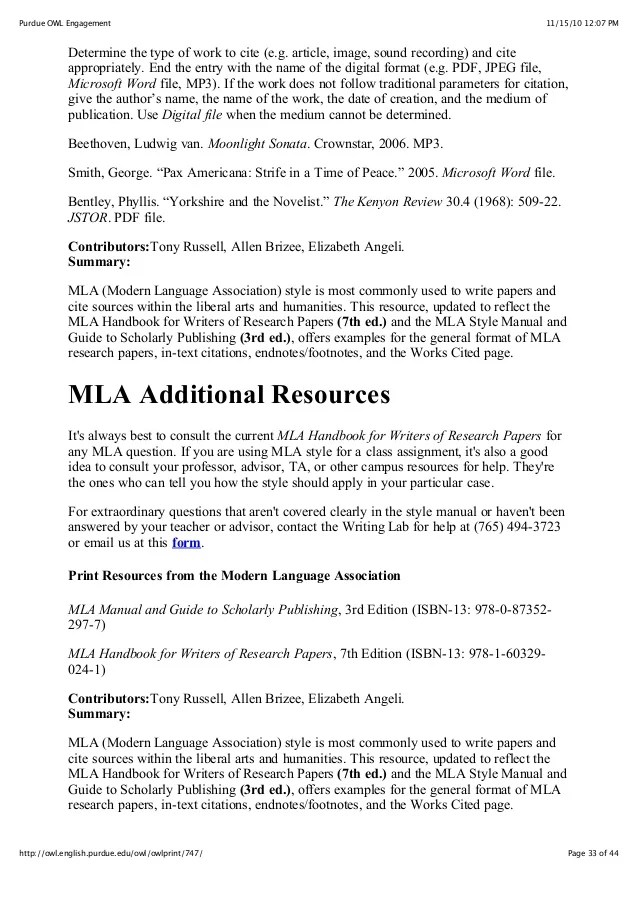 Mla Format Guidelines Pdf Dolap Magnetband Co