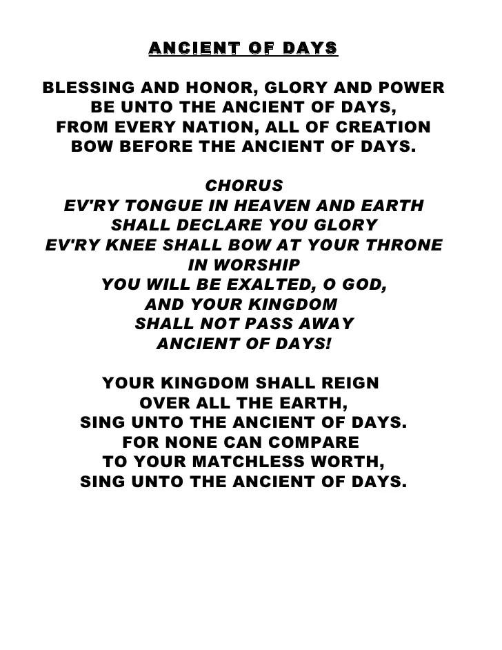 Blessing And Honor Lyrics : blessing, honor, lyrics, Praise, Worship, Hymns