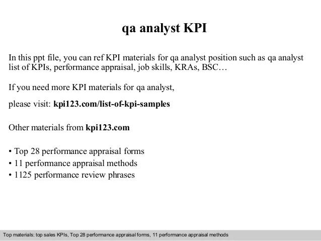 interview questions for quality assurance analyst