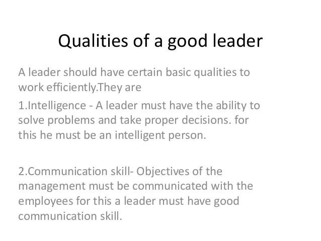 i am a leader essay examples