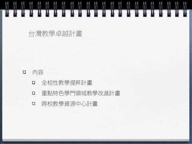 德國Quality pact for teaching與臺灣教學越計畫之比較研究