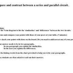 Using A Venn Diagram To Compare And Contrast 2004 Dodge Durango Infinity Sound System Wiring Series Parallel Circuits