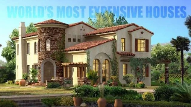 Quincy Harrington Top 10 Most Expensive Houses In The World 2015