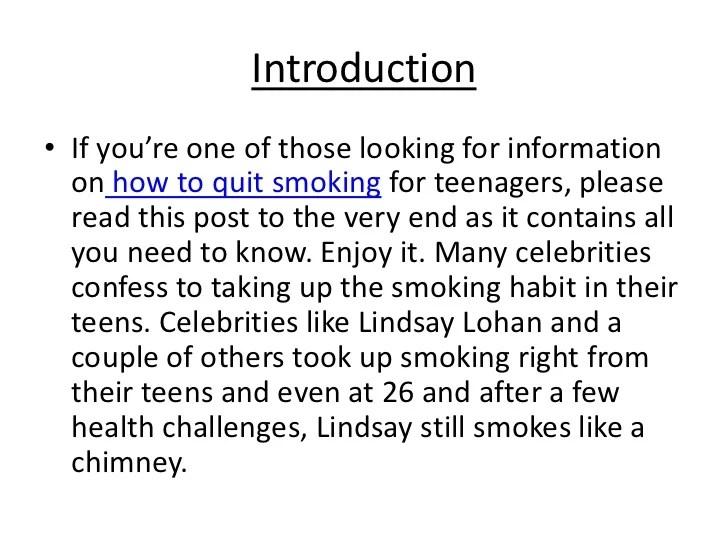 Teenage Smoking Essay Essay Sample Sample Essays For College Example