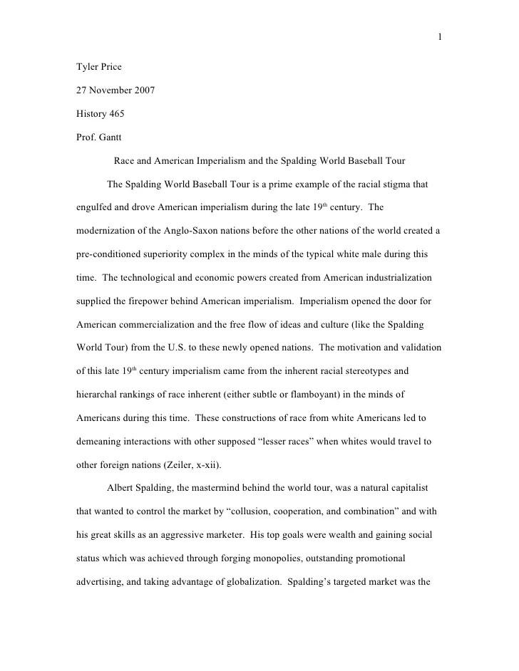 baseball essays