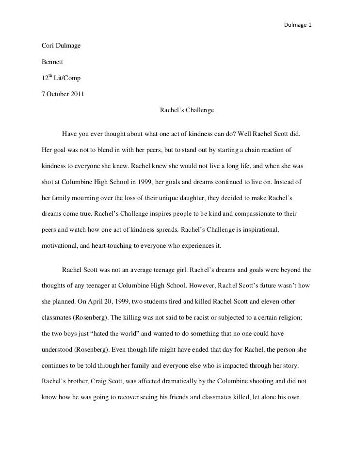 Code Of Ethics Essay Best Rachel Joy Scott Images Rachel Scott L