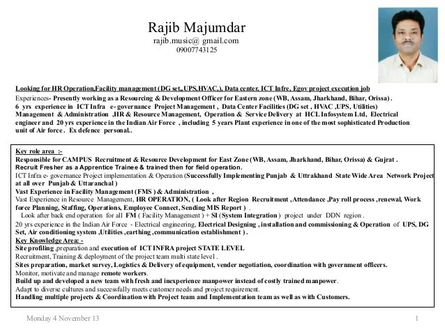 4  12 yrs experience in ICT Infra E Governance Project