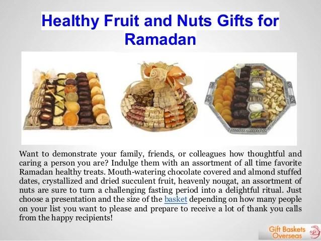 Ramadan Gifts And Eid Gift Baskets