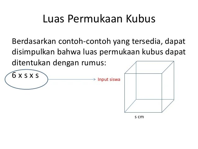 16/09/2020· luas permukaan gabungan kubus dan balok. Luas Permukaan Kubus dan Balok