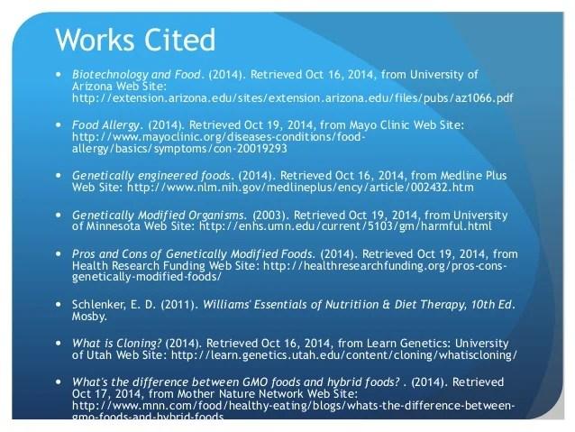 Genetically Modified Food List Pdf