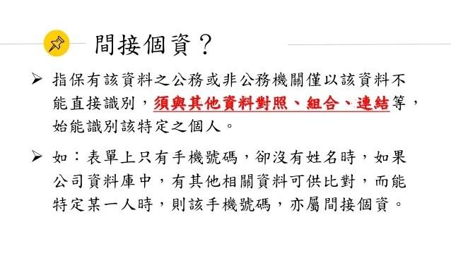 個人資料保護法簡介 – 郭泓志律師