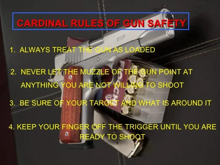 Range Safety Procedure