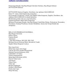 Distributor Baja Ringan Di Cilacap Rangka Atap Galvalum Jember Depo Ap