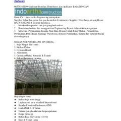 Baja Ringan G550 Rangka Atap Kencana Truss Galvalume 085791632999