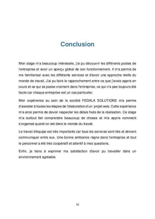 Introduction Rapport De Stage Cuisine