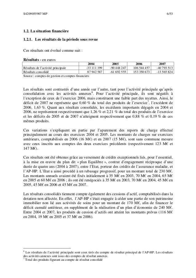 Rapport de la chambre rgionale des comptes dIledeFrance sur lAss