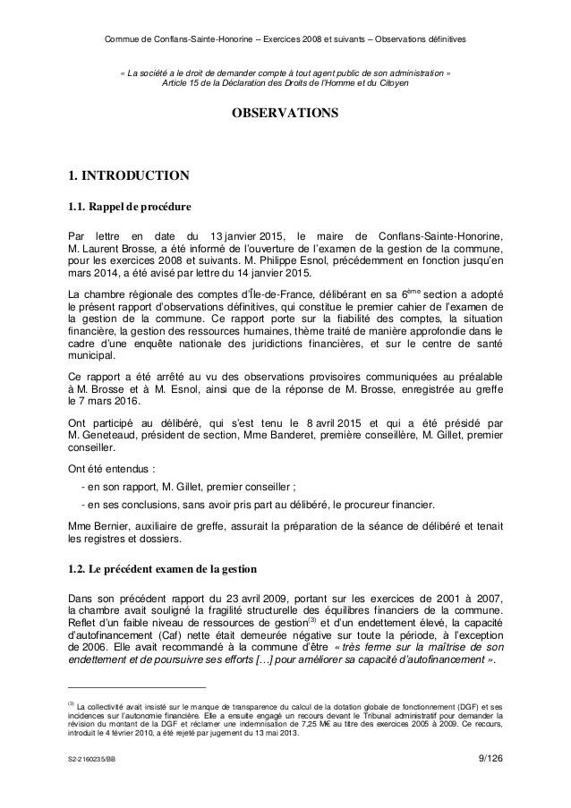 Chambre Rgionale Des Comptes Marchs Publics
