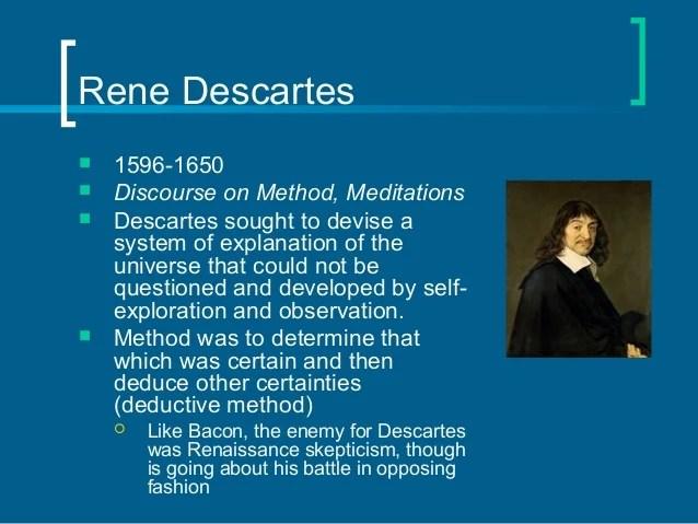 Rationalism and Empiricism