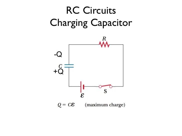 rc charging circuit