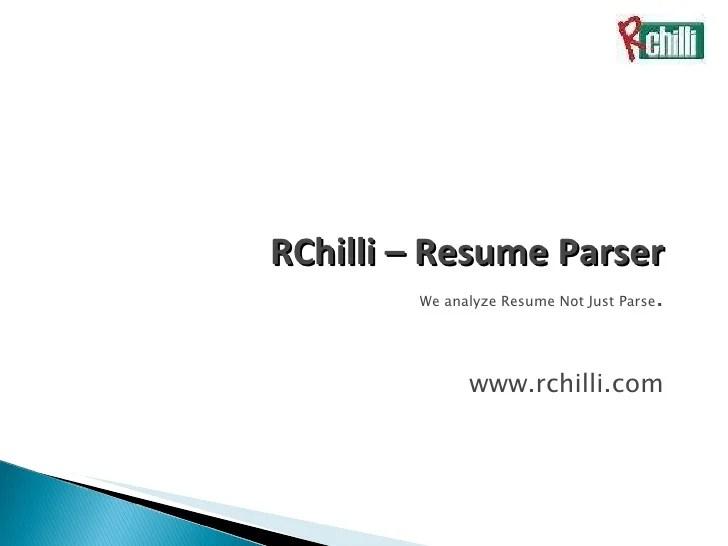 wordpress resume parser