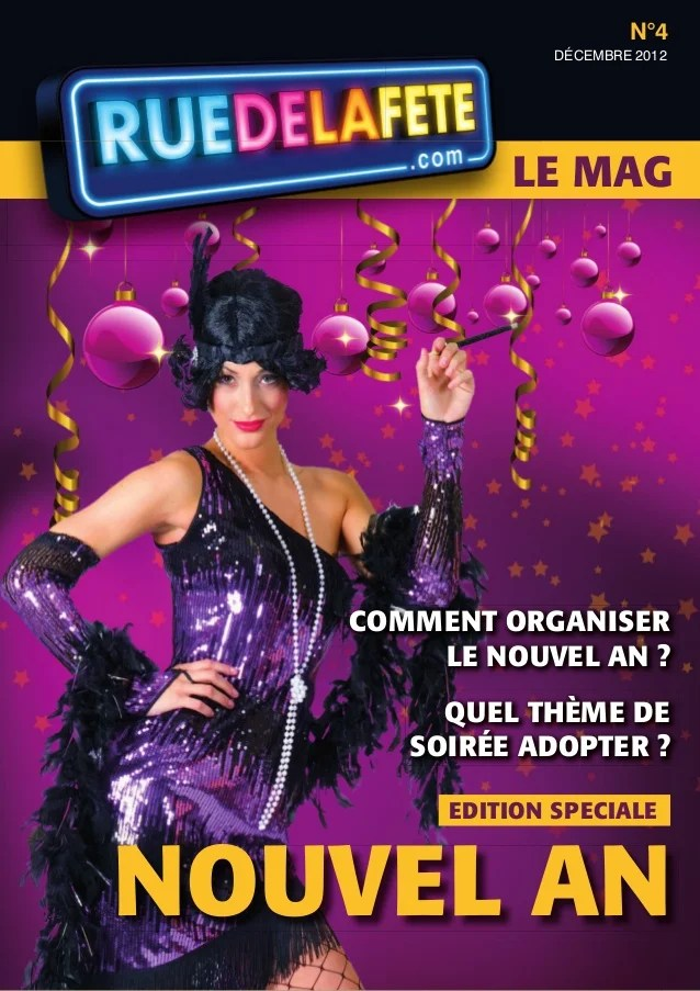 Magazine Comment Russir Son Rveillon Du