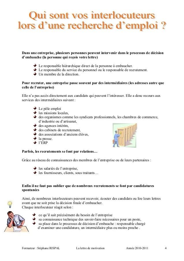image schema lettre de motivation lettre de presentation